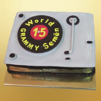Торт для диджея своими руками