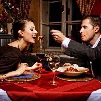 Ужин в ресторане на двоих