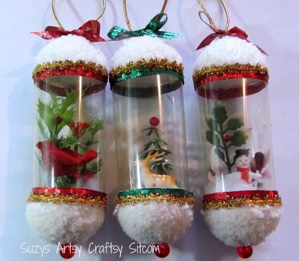 Новогодние игрушки из непромокаемого материала своими руками