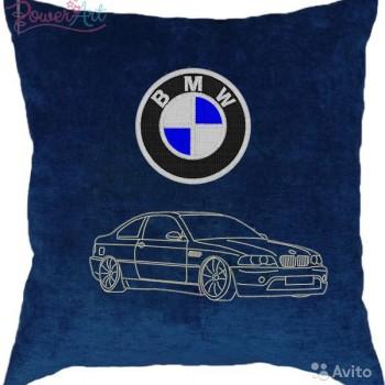 Подушка с авто логотипом