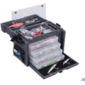 пластмассовый чемодан для рыбацких снастей