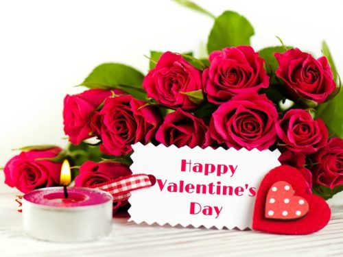 Фотооткрытка «С днем Валентина»