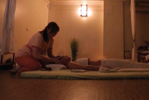 Древнеиндийский массаж