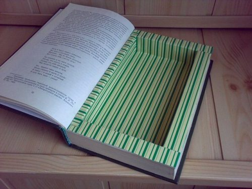 Книга-тайник