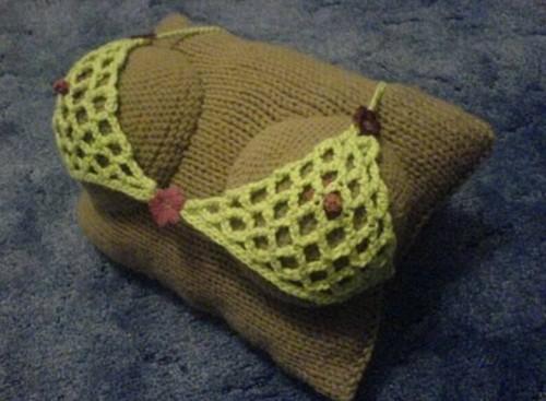Подушка сделанная собственными руками