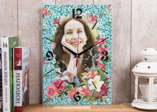 Настенные часы «Королева цветов»