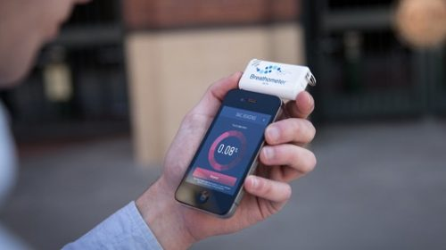Алкотестер для смартфона