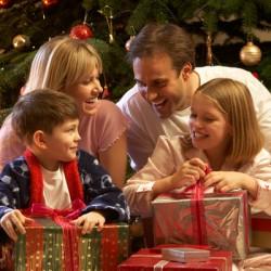 Подарки семье на Новый год 2017