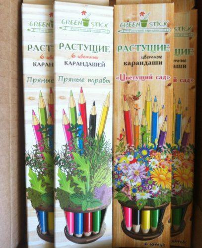 Растущие карандаши Пряные травы