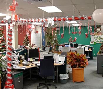 праздничный офис