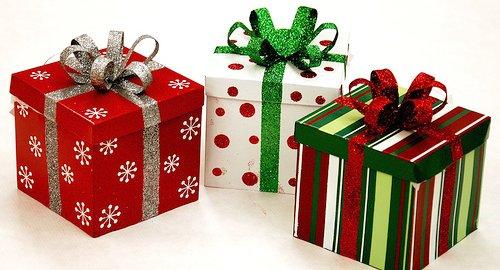 подарки в красивой упаковке фото