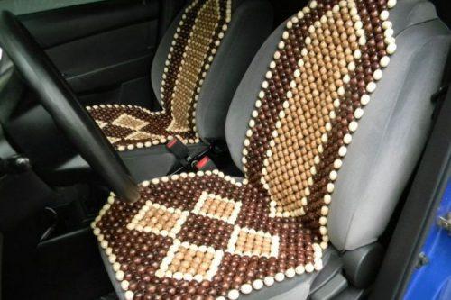Массажная накидка для автомобильного сидения
