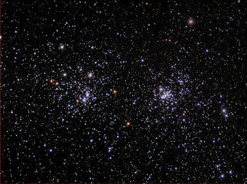 Звездное небо через телескоп