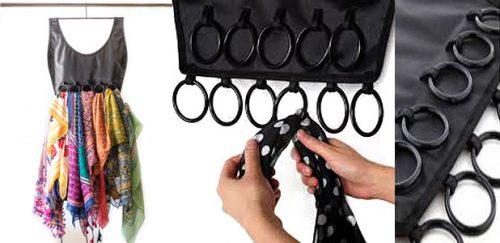 органайзер для шарфов