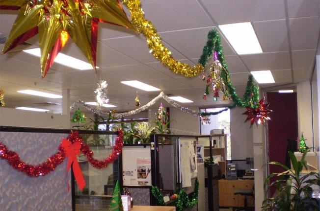 Украшение офиса на новый год своими руками 2015
