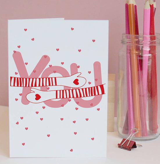 Идея красивой открытки своими руками