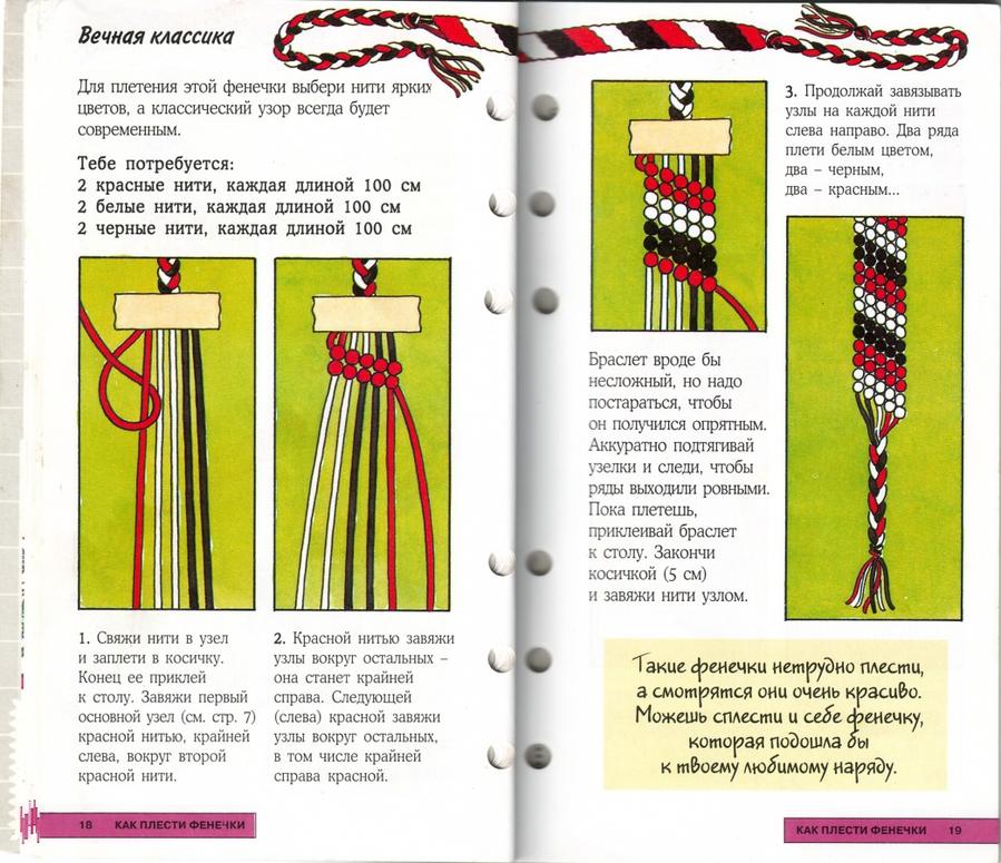 Как сделать фенечку с рисунком