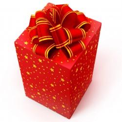 Упаковываем красиво подарок в подарочную бумагу