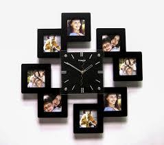 Часы с рамками для фото