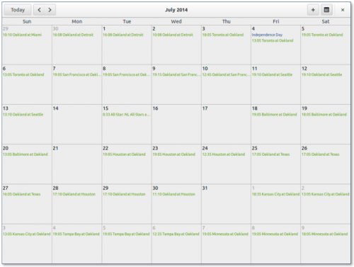 Календарь-планировщик