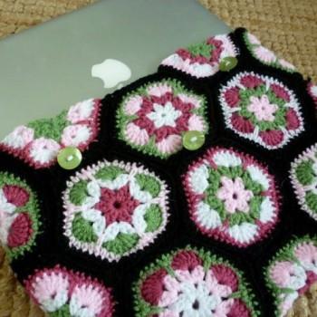 оригинальный чехол для планшета с цветочками
