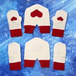 Как связать мужские перчатки?