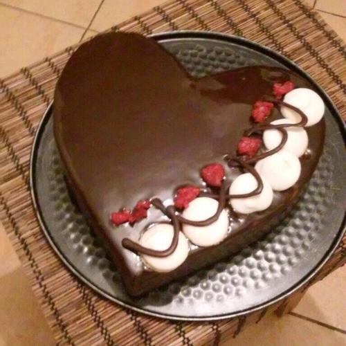 Пирожное «Шоколадное сердце»