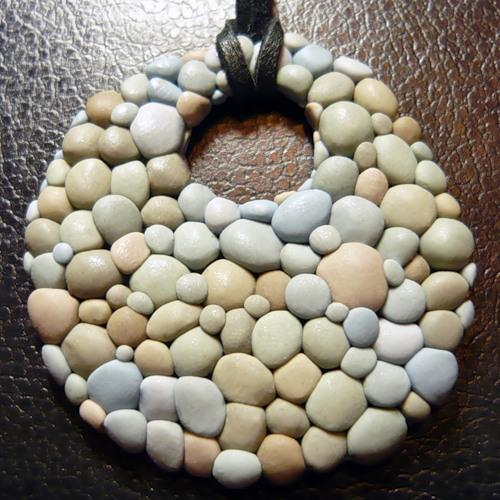 Подставка для горячего из камней