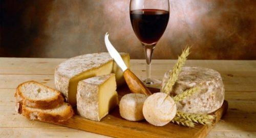 Дегустация вина и сыра