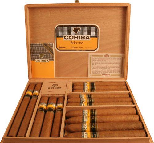 набор кубинских сигар