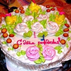 Делаем торт на День Рождения