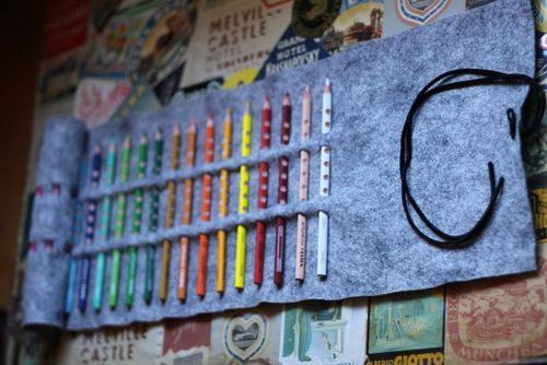 Футляр для карандашей своими руками