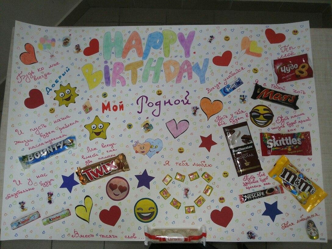Плакаты на день рождения ребенка Семейный 64