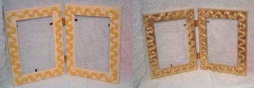 рамка из макарон