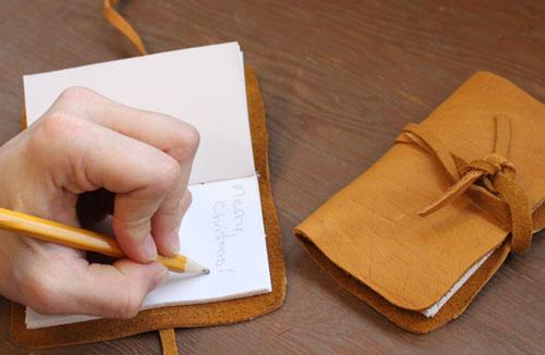 Делаем своими руками блокноты