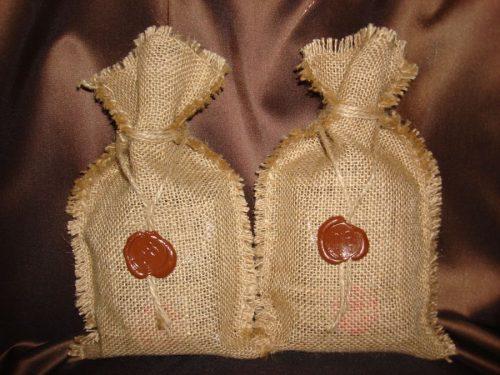 Декоративный мешочек для кофе
