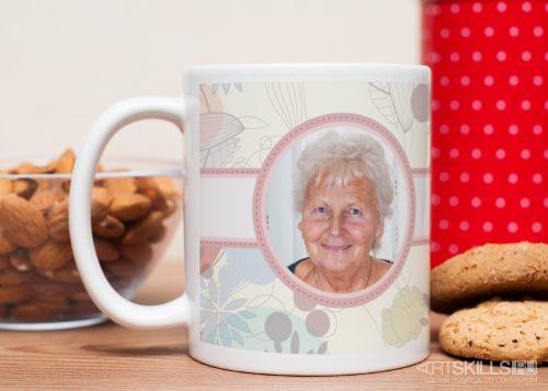 Фотокружка «Любимой бабушке»