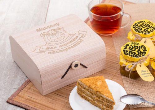 подарочный набор мёда Для хорошего настроения
